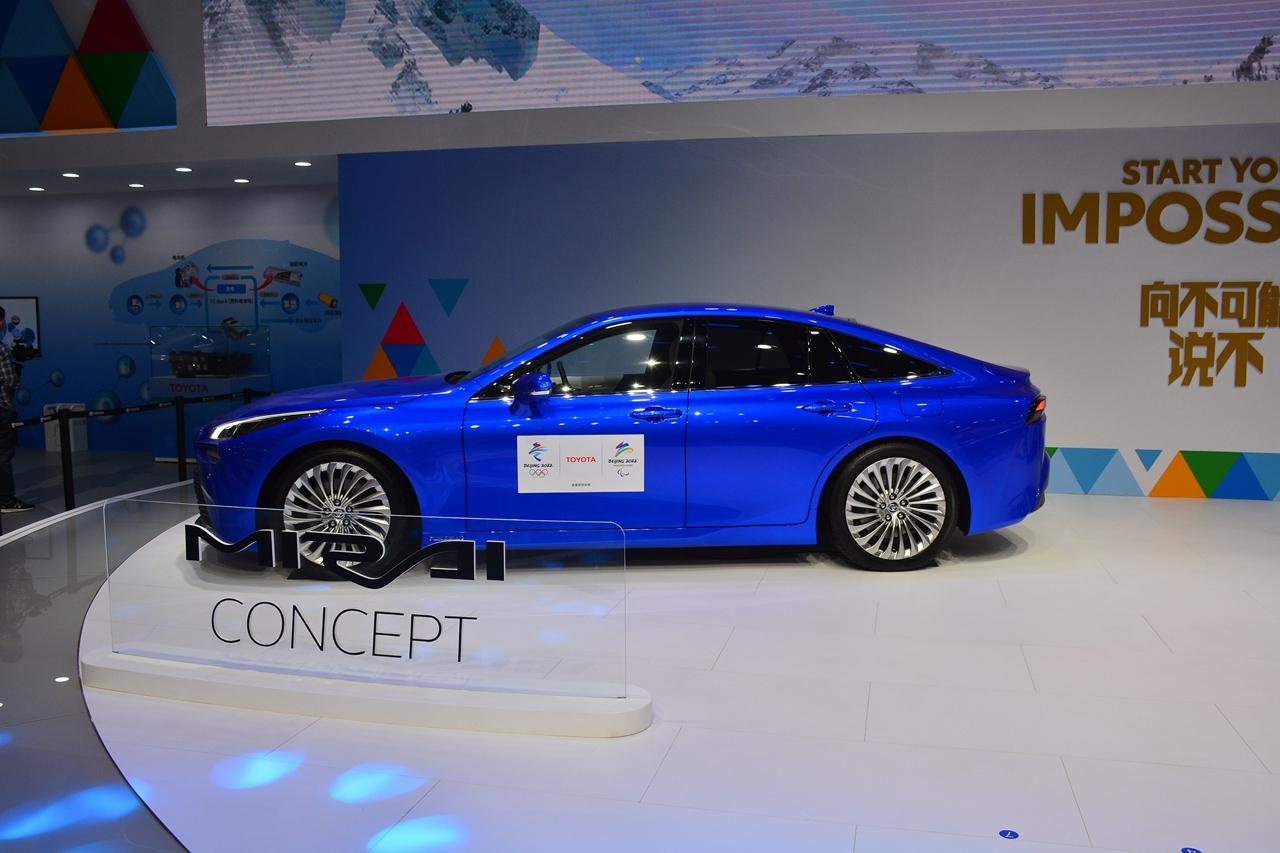 2020北京车展实拍:Mirai