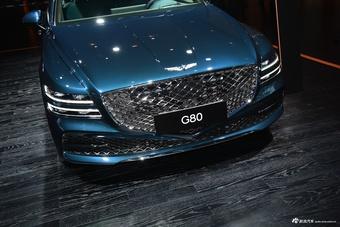 2021上海车展实拍:捷尼赛思G80