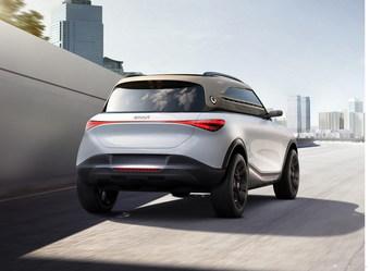 2021款smart精灵#1 概念车