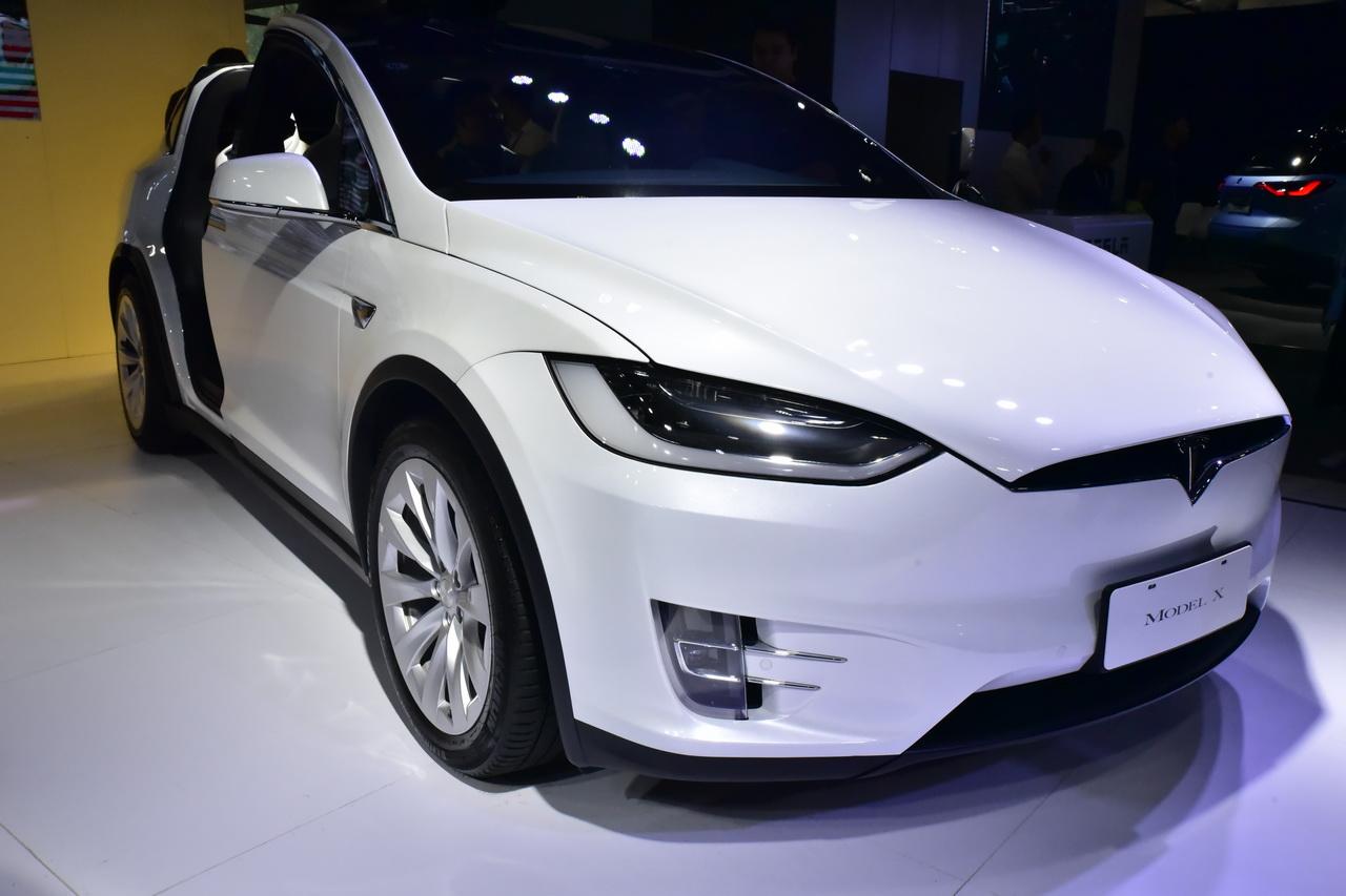 2019广州车展实拍:特斯拉Model X