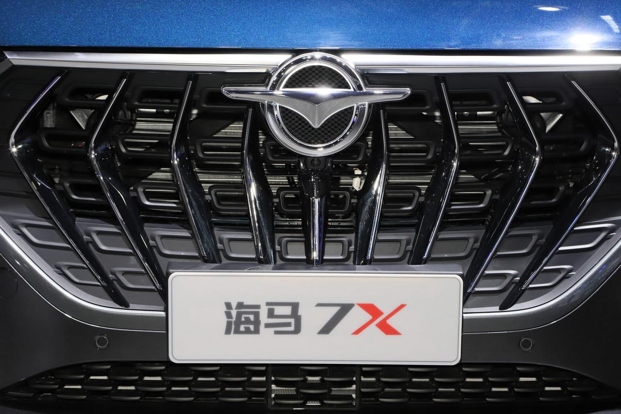 2019广州车展实拍:海马VF00
