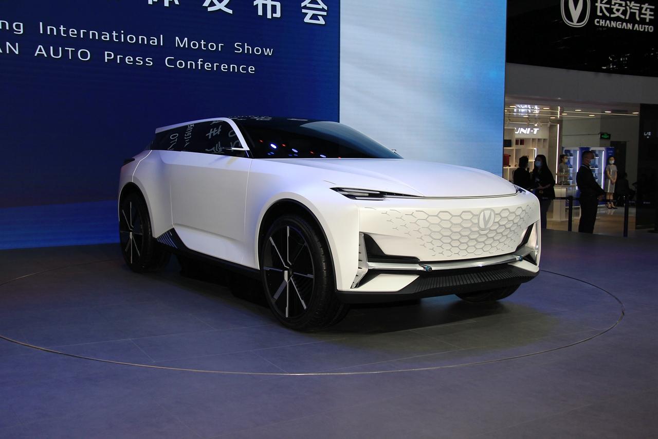 北京车展实拍 长安Vision-V概念车